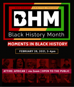 Moments in Black History