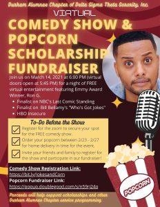 Popcorn Fundraiser & Comedy Show