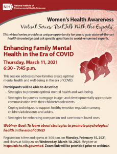 Enhancing Family Mental Health in the Era of COVID